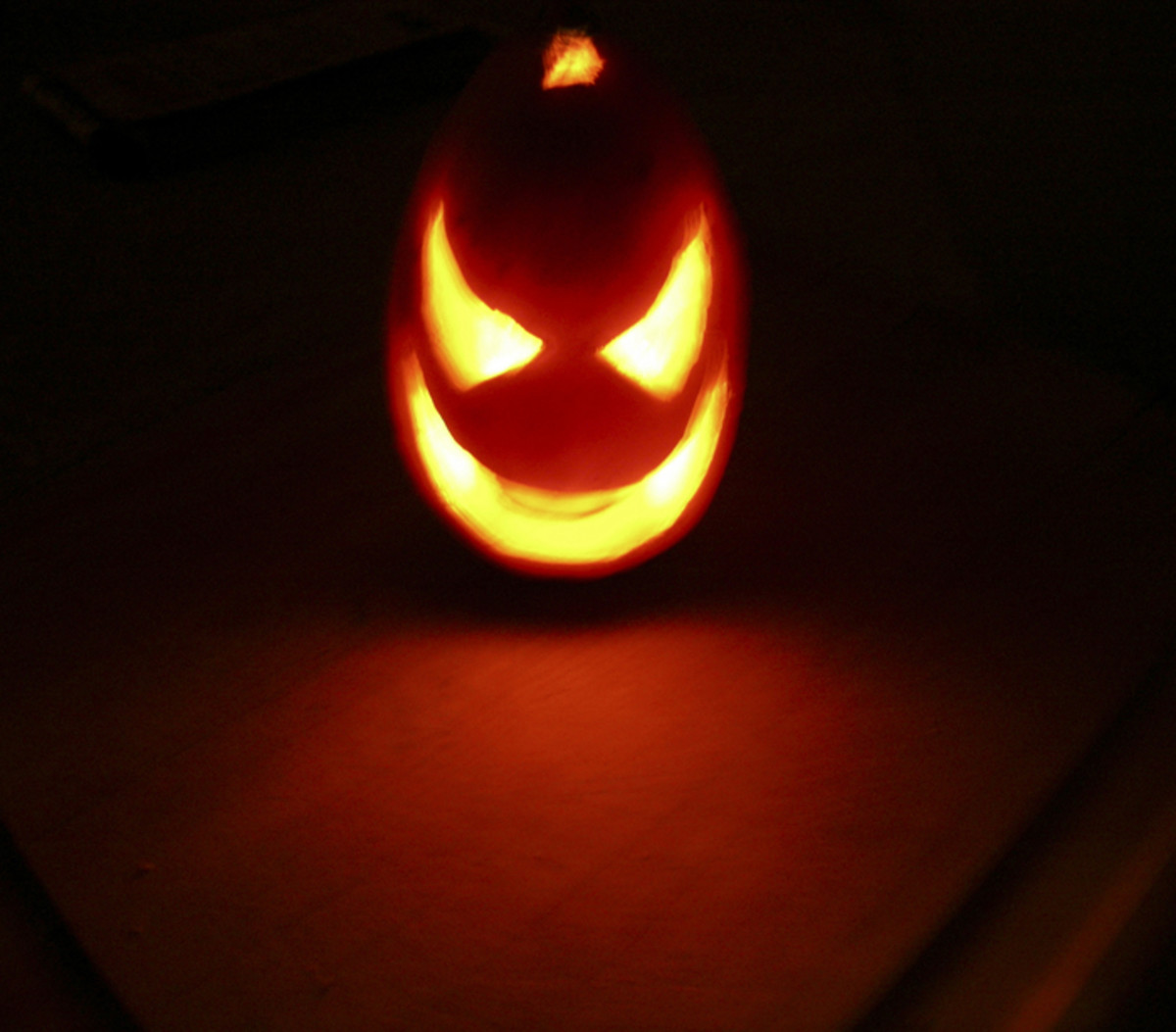 Devil Pumpkin Idea