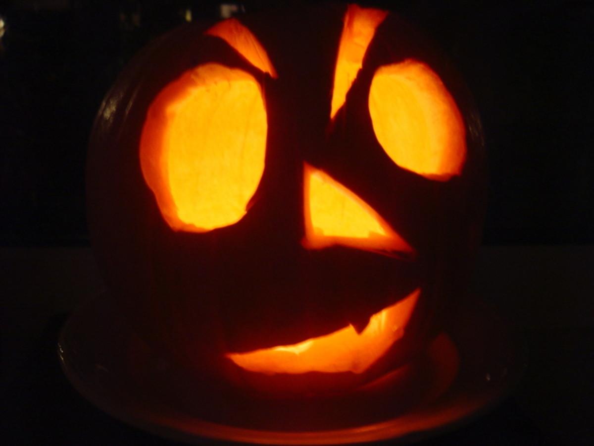 Pumpkin with Big Eyes
