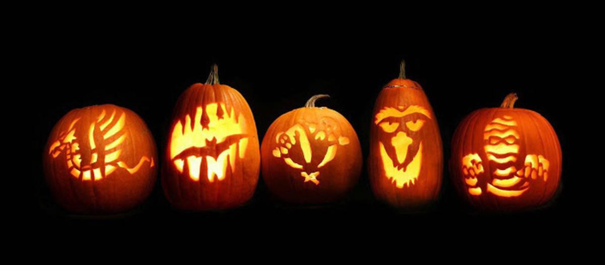 Five Pumpkin Patterns