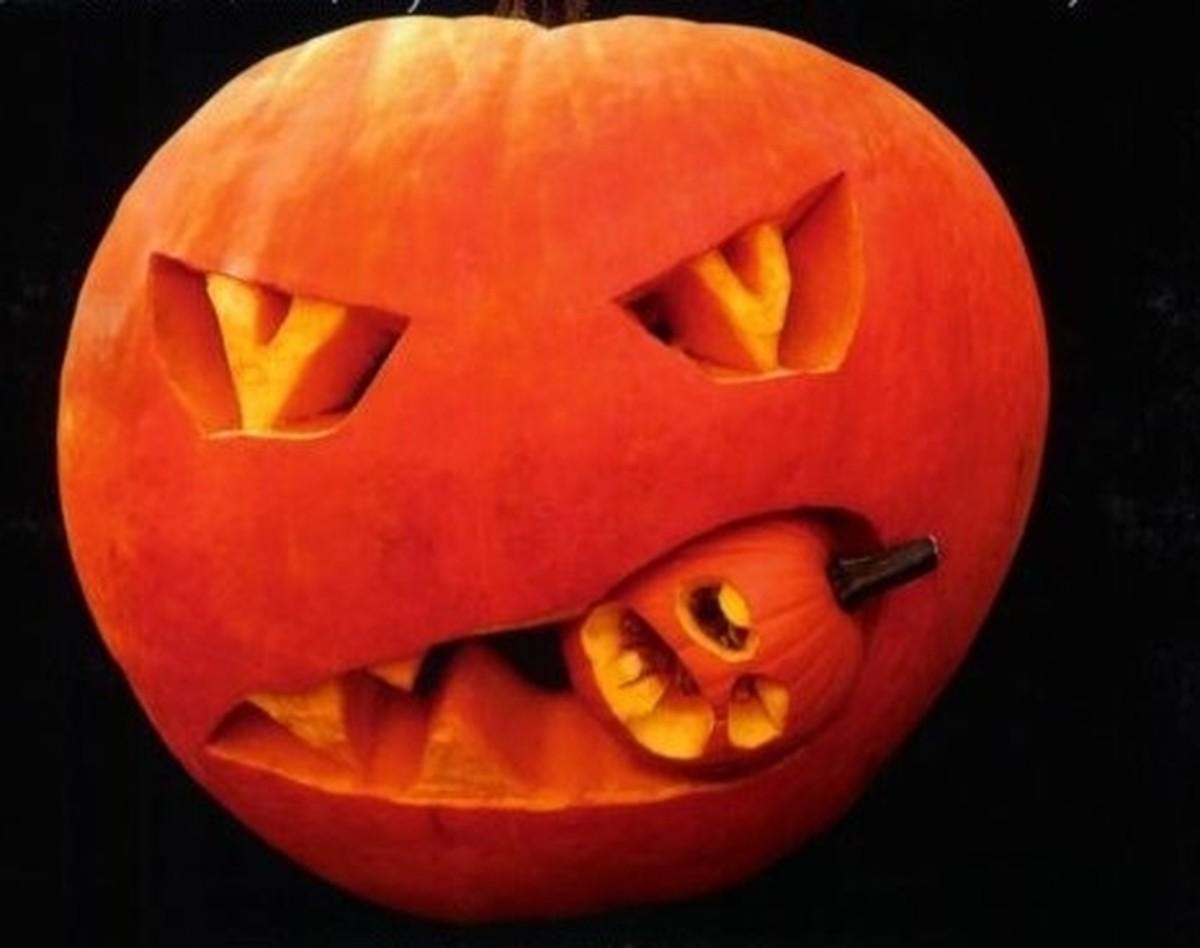 Canniba lPumpkin Design