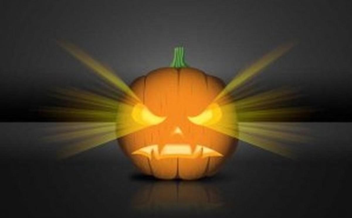 Mean Jack-O'-Lantern Pattern