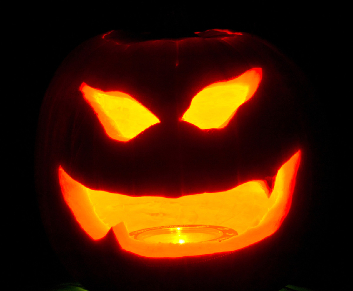 Cheshire Cat Pumpkin Carving Pattern