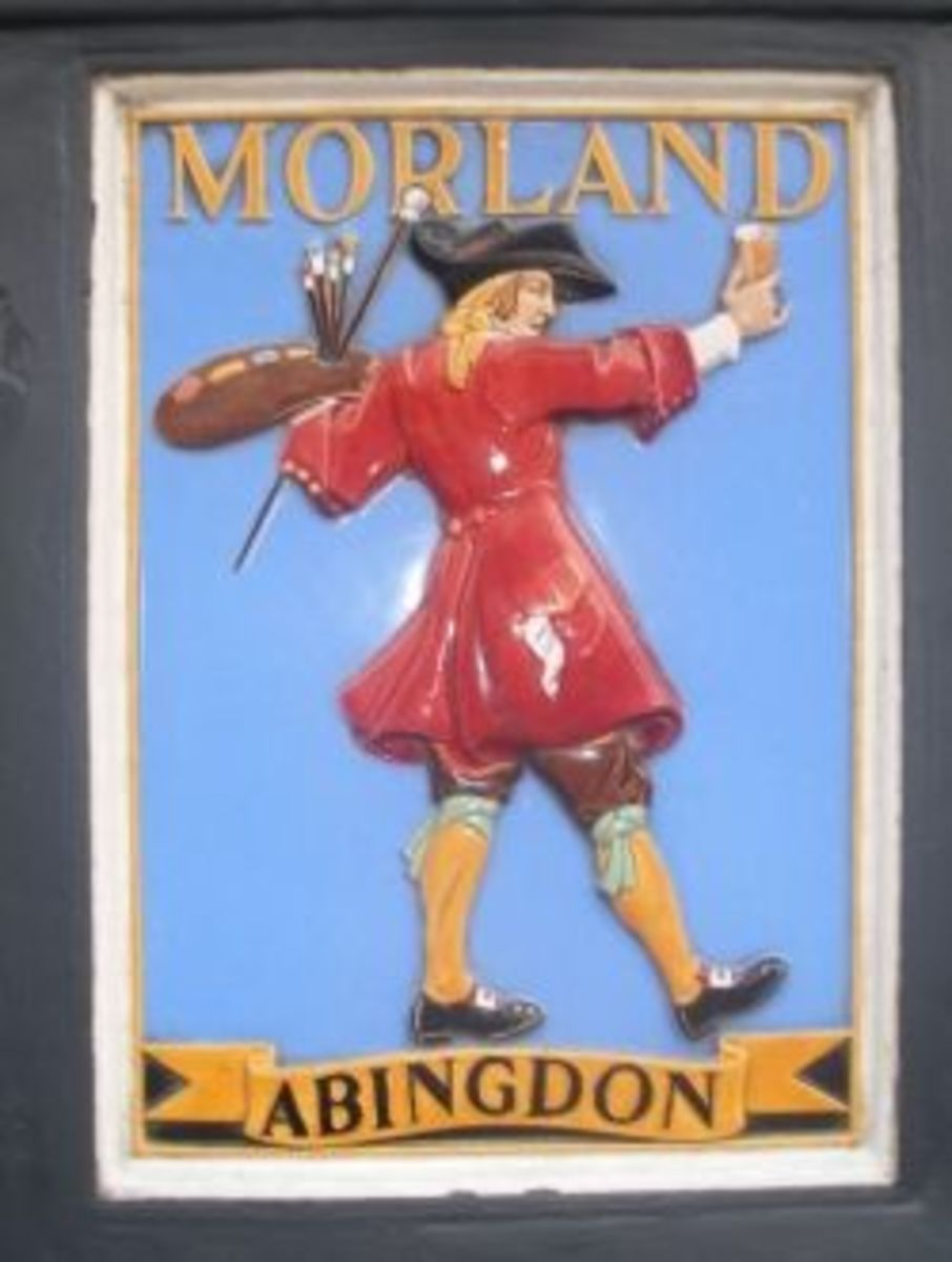 Morland Pub Signs of Old Berkshire