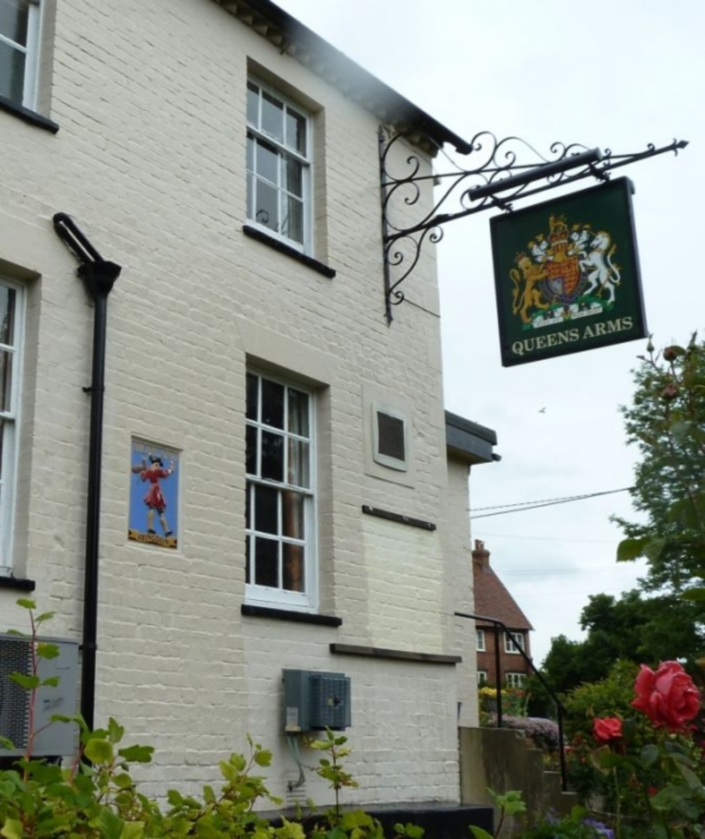Morlands Pub the Queens Arms Didcot Old Village