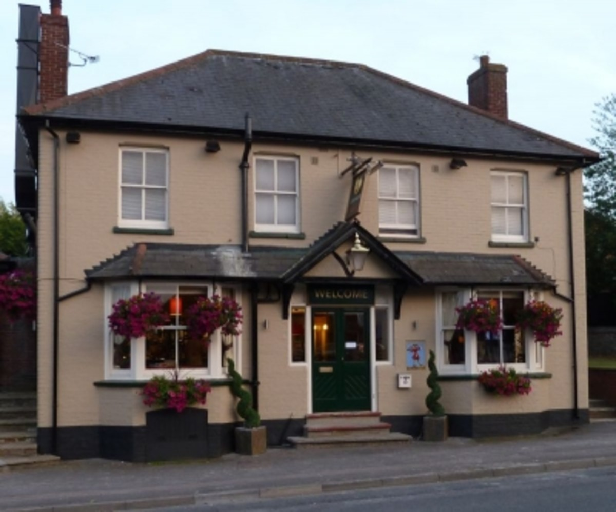 Lord Nelson Pub at Wantage (popular with Ridgeway walkers)