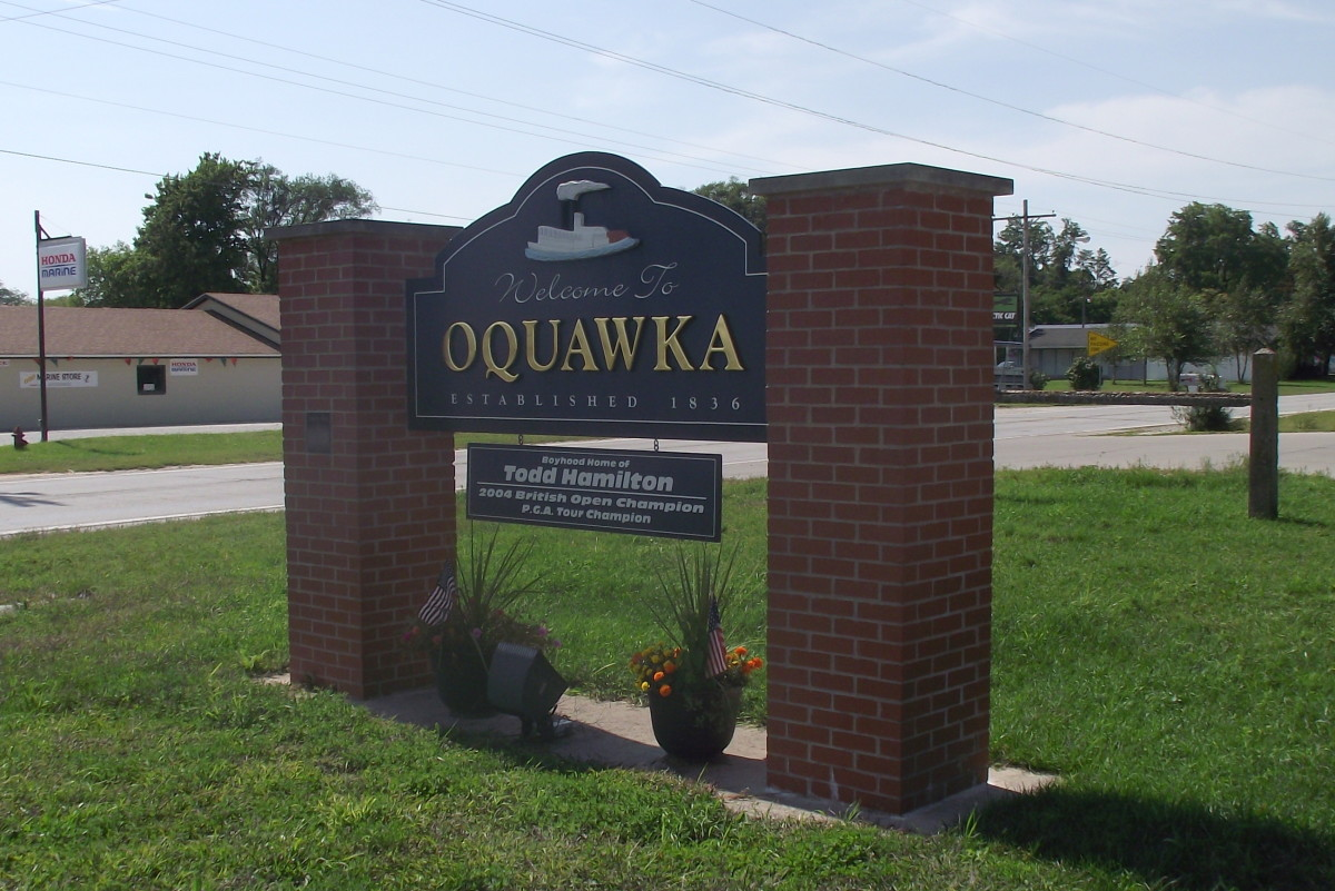 History of American Towns: Oquawka, Illinois