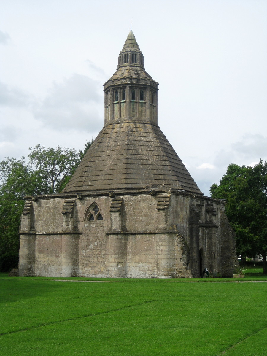 Abbot's Kitchen at Glastonbury Abbey