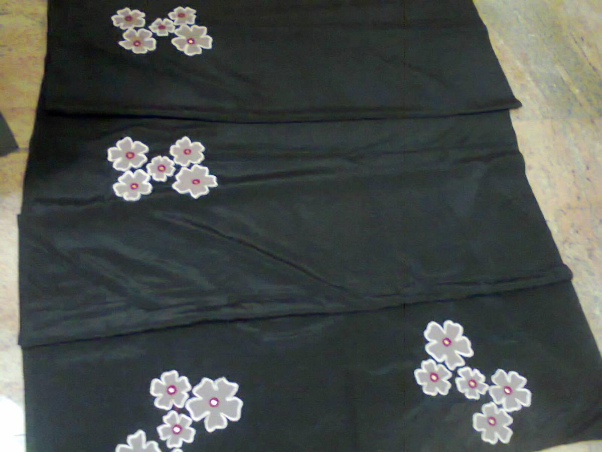 stitching designs on saree