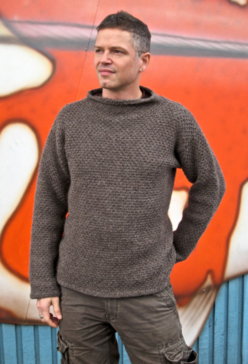 Tips For Knitting Your First Sweater : How to design your first hand knit sweater part hubpages