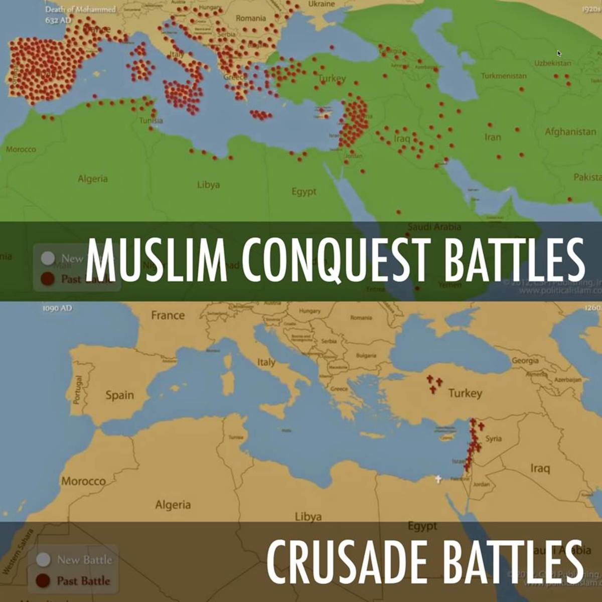 Muslim Militant Conquest vs the Crusades