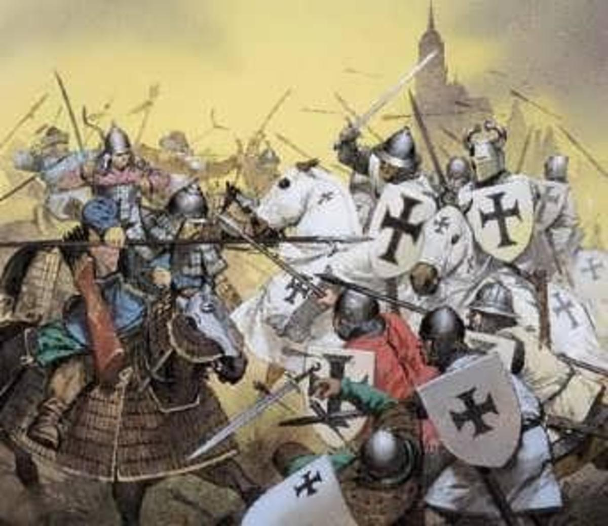 My Christian Answer To The Crusades: Give Me A High Horse.