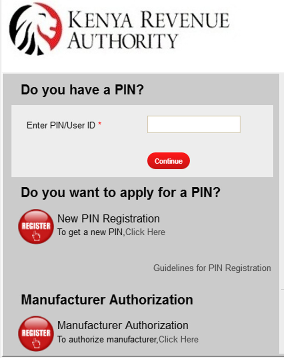 Enter Your Pin and Click on Continue