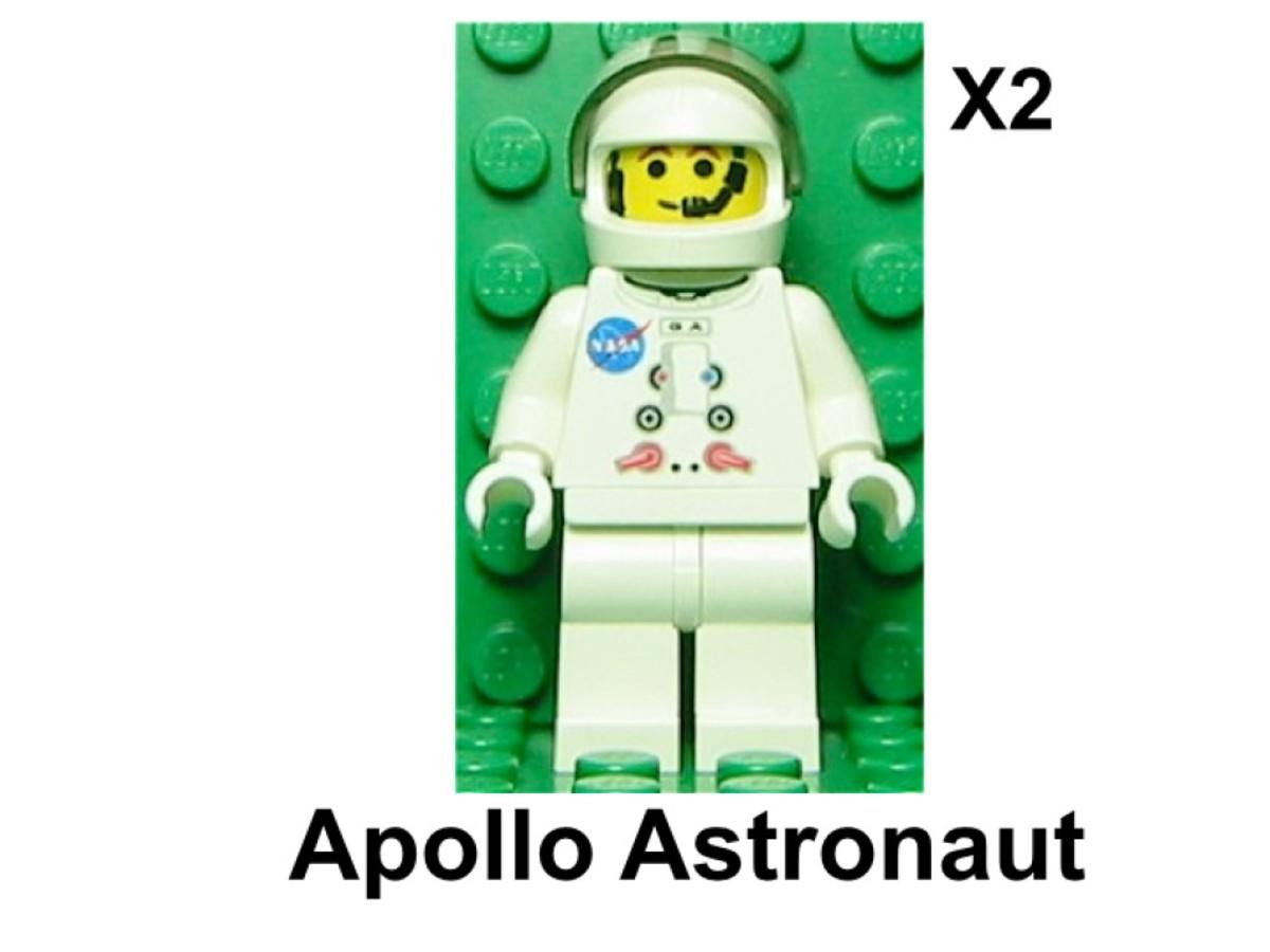 LEGO Discovery Lunar Lander 10029 Minifigures