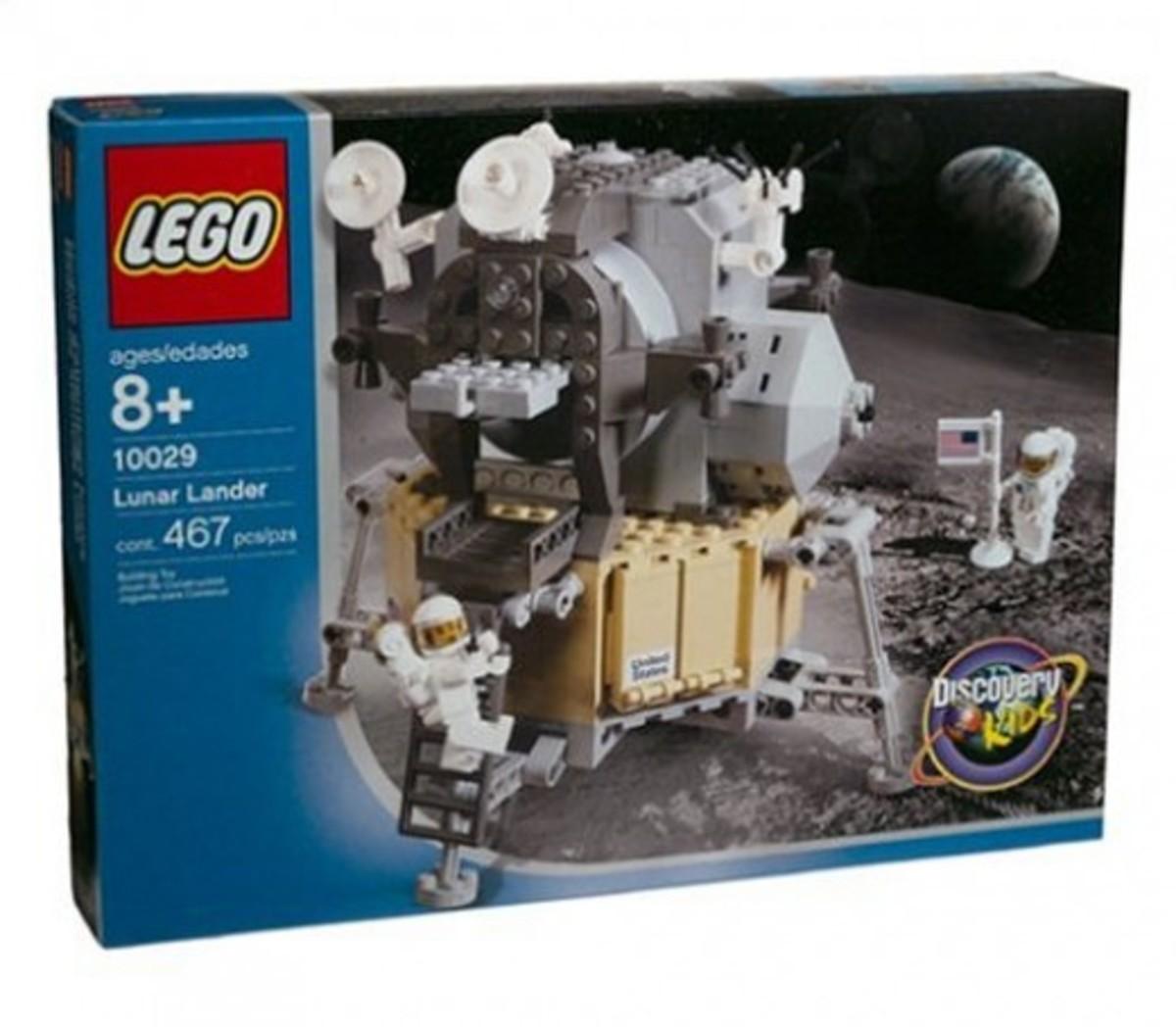 LEGO Discovery Lunar Lander 10029 Box