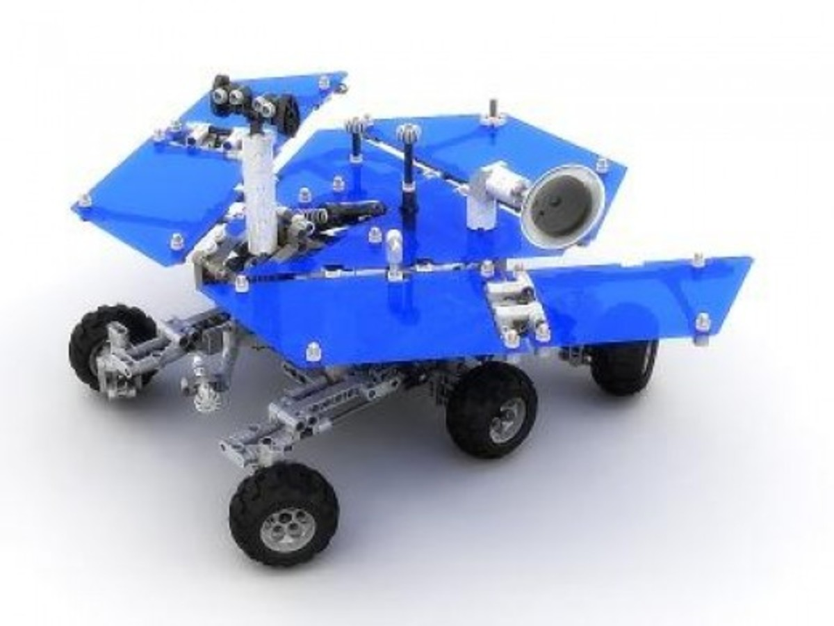 LEGO Discovery Mars Exploration Rover 7471 Assembled
