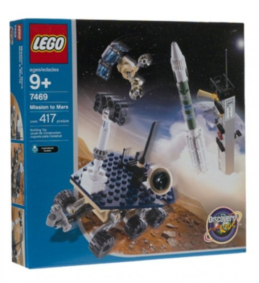 LEGO Discovery Mission To Mars 7469 Box
