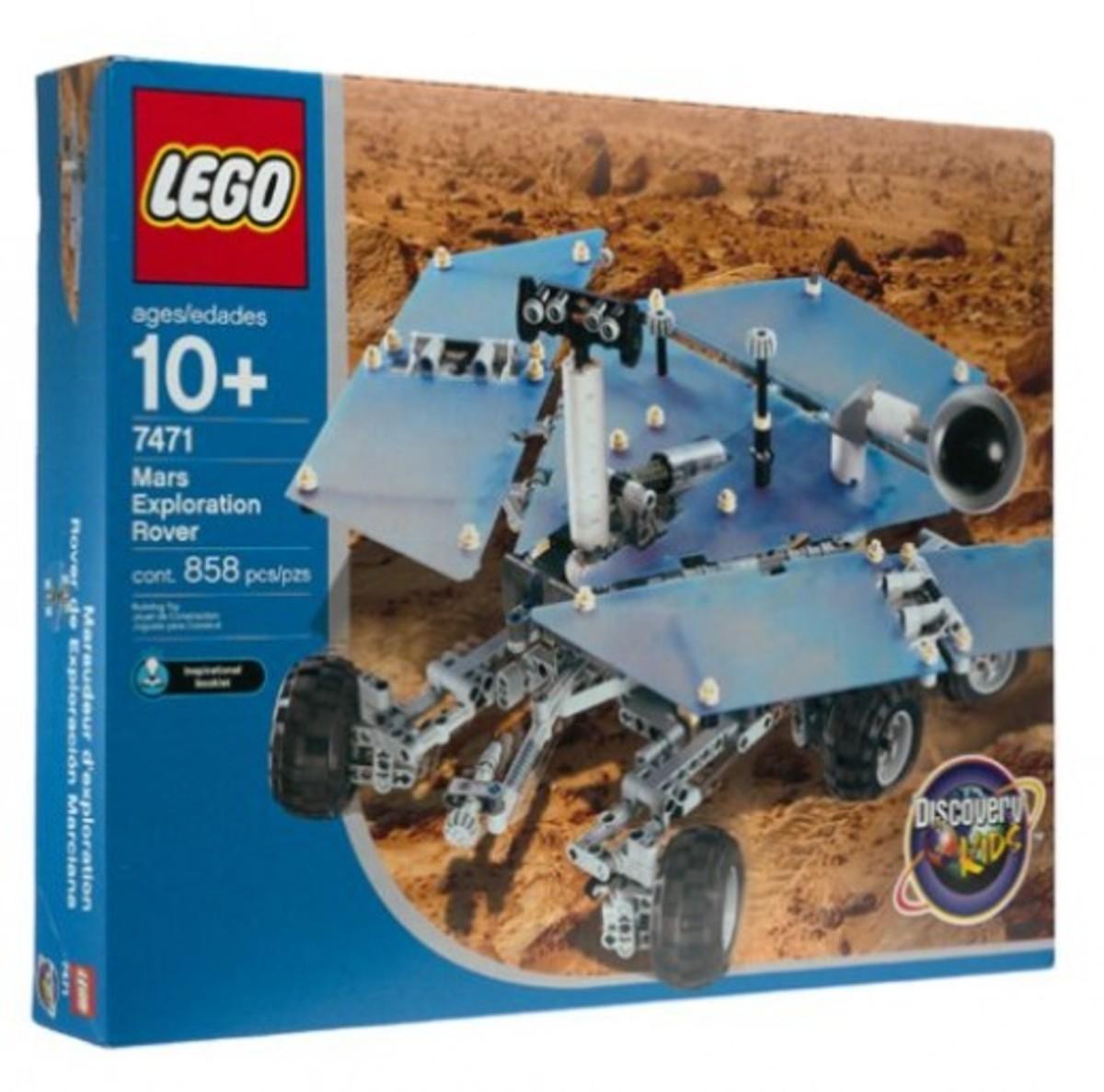 LEGO Discovery Mars Exploration Rover 7471 Box