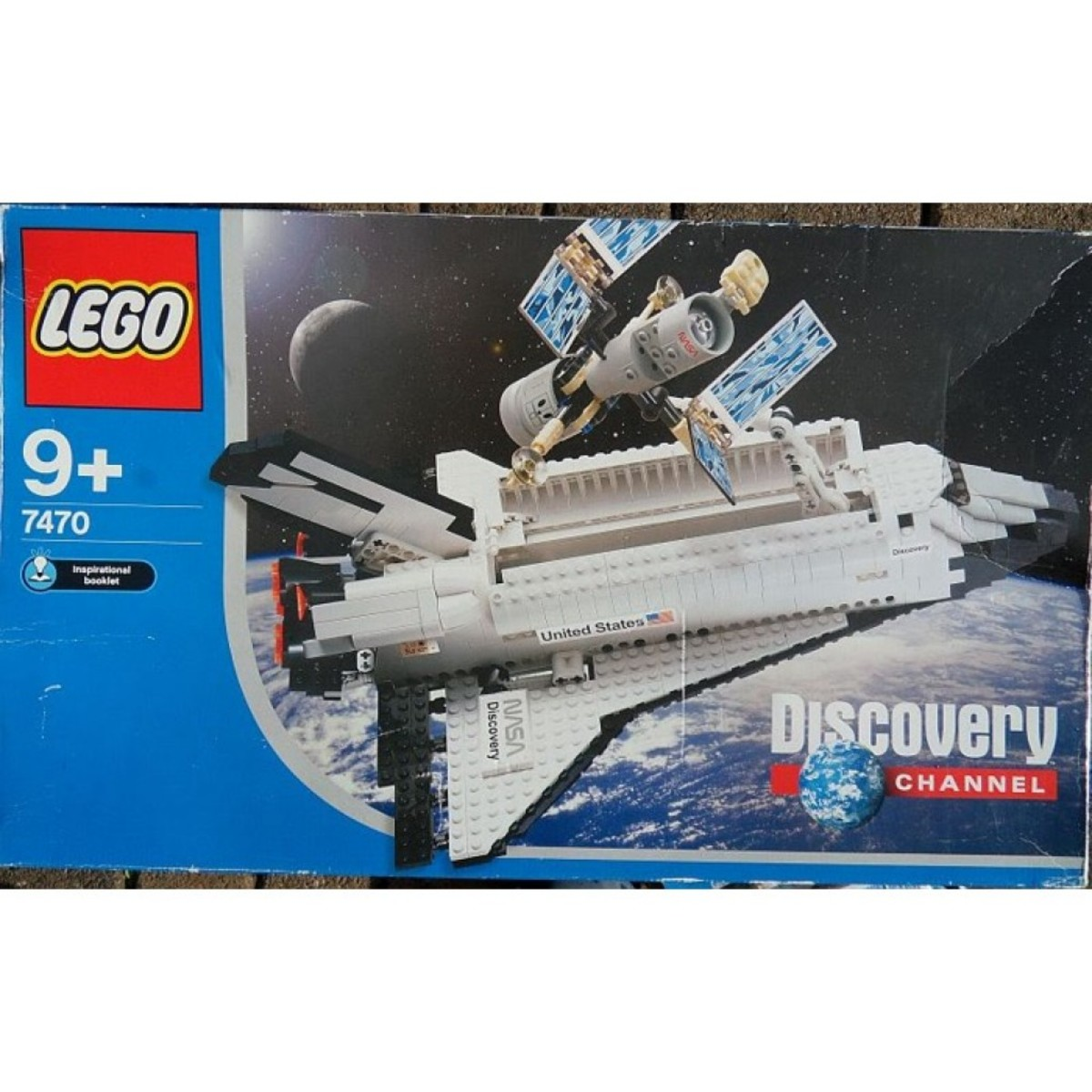 LEGO Discovery Space Shuttle Discovery-STS-31 7470 Box