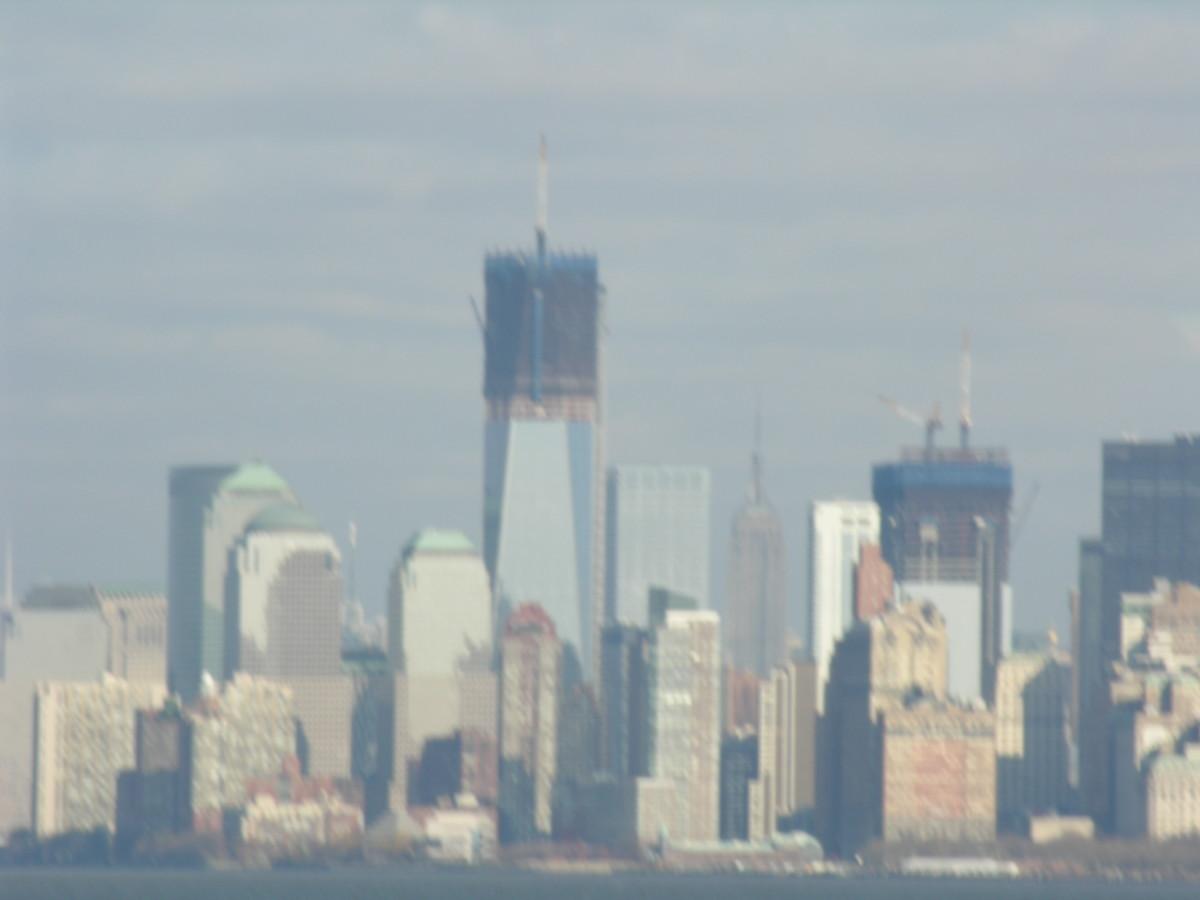 Lower Manhattan, Christmas 2011.
