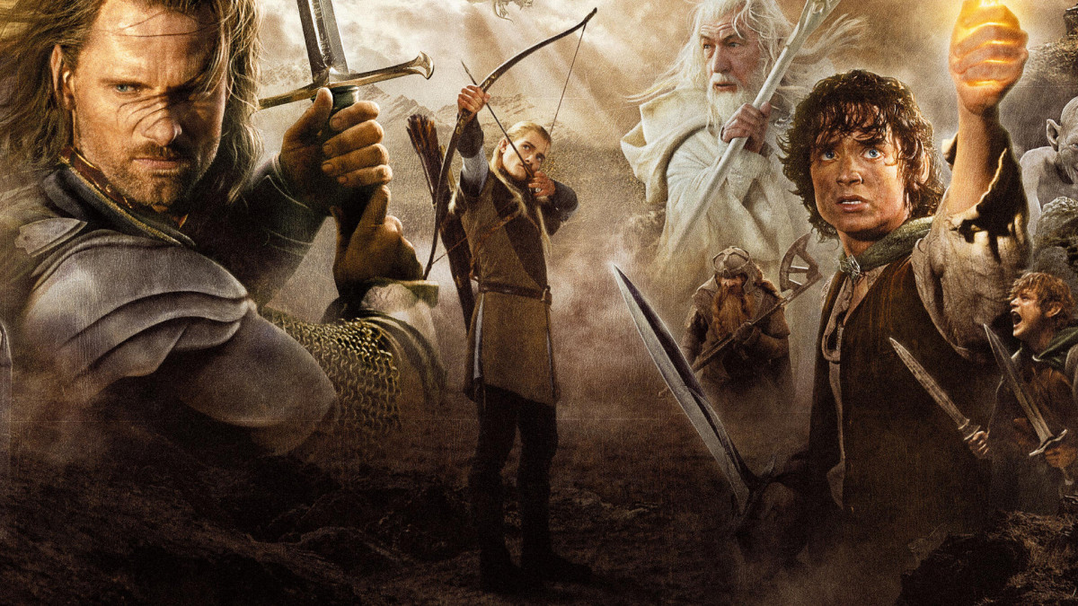 Gandalf, Frodo and Aragorn as Prophet, Priest and King