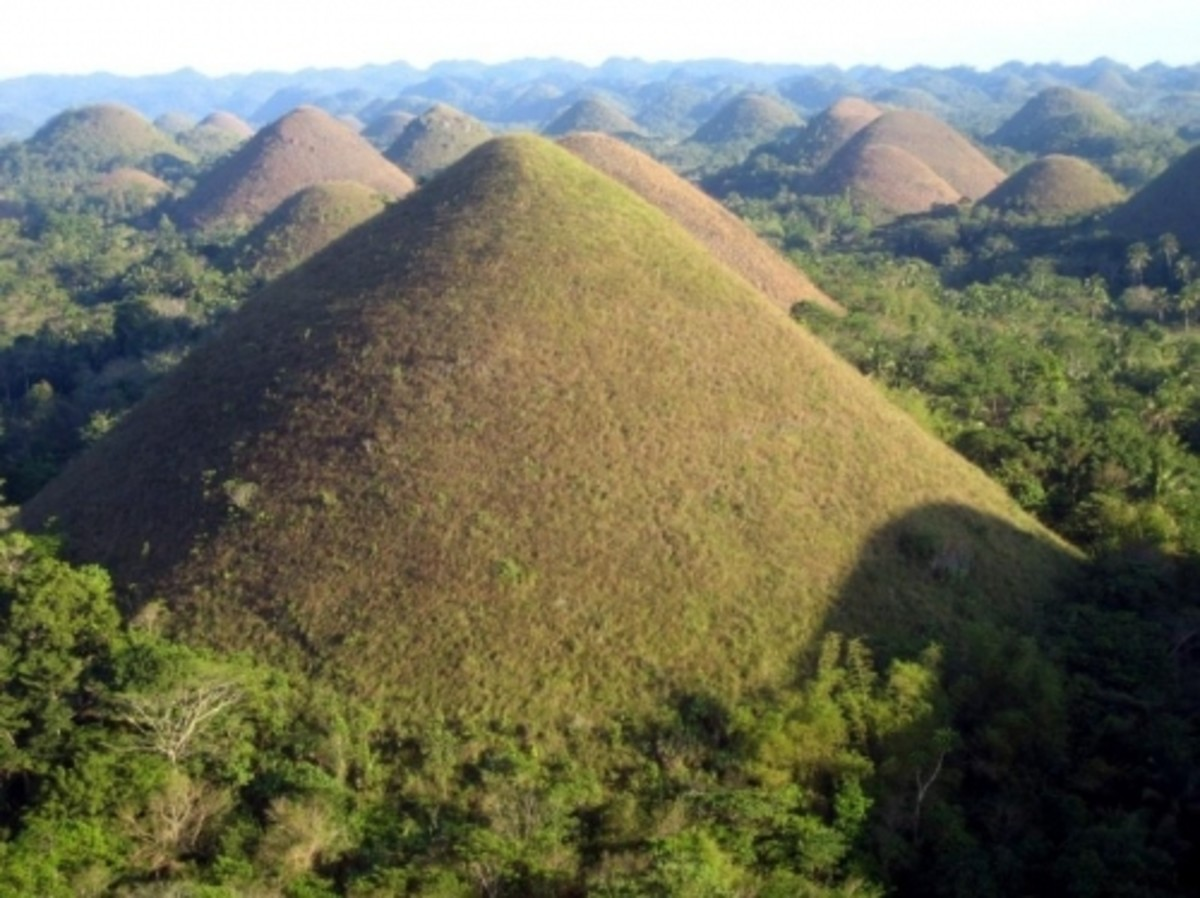 CHOCOLATE hills from Bohol- Nature's Natural Recipe?