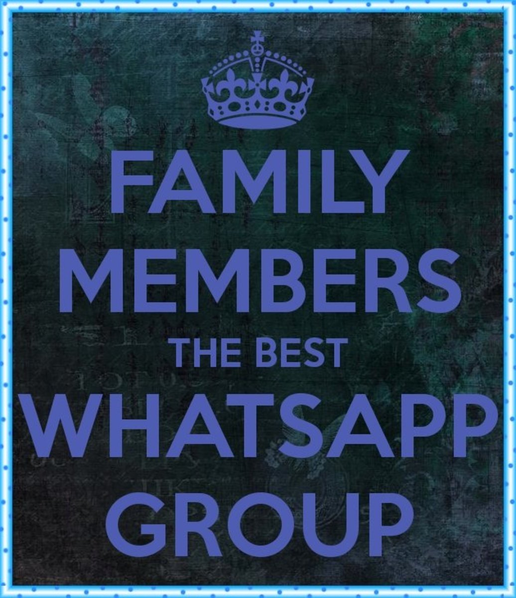 Funny Whatsapp Group Names for Family Friends | HubPages
