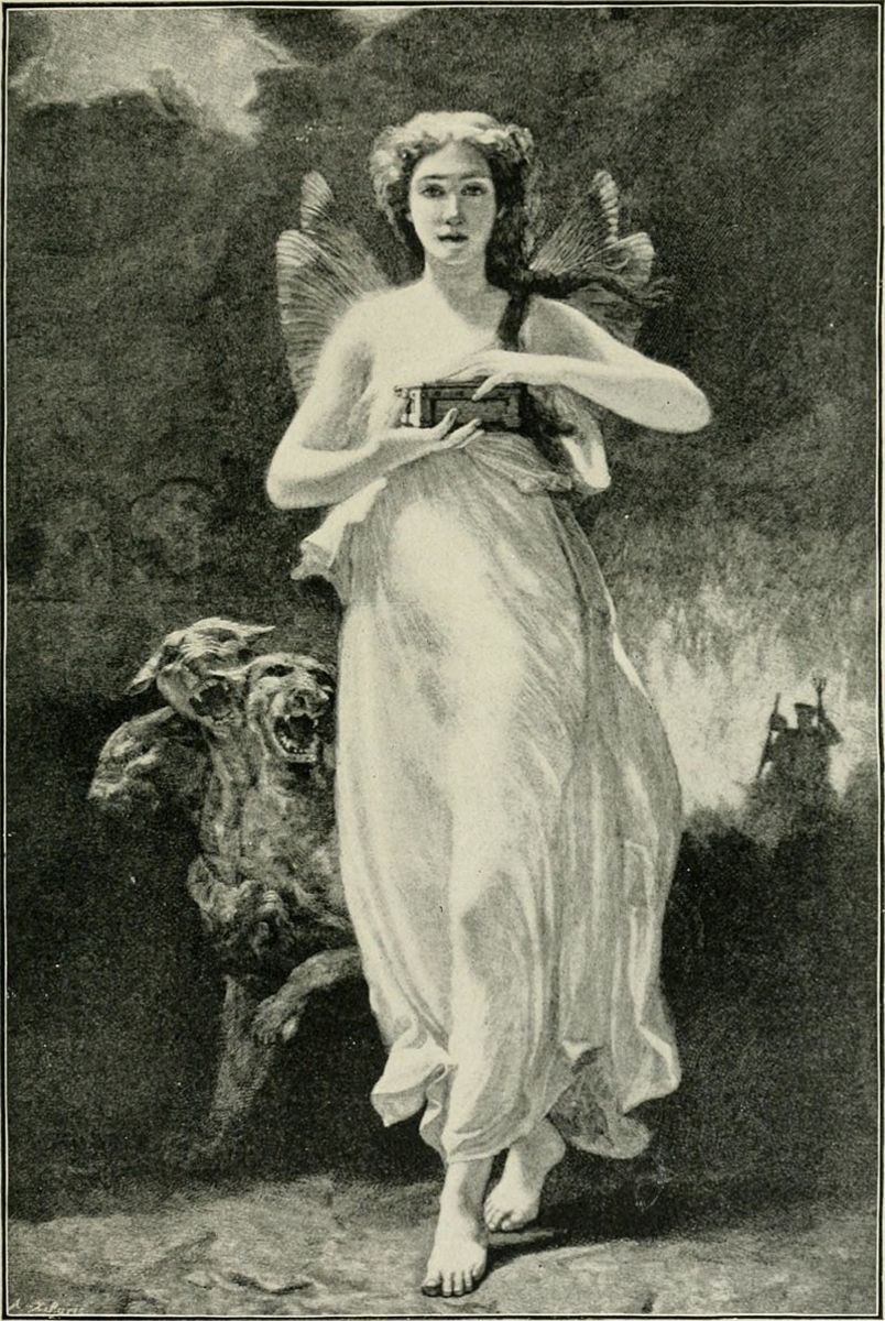 Cerberus with Psyche