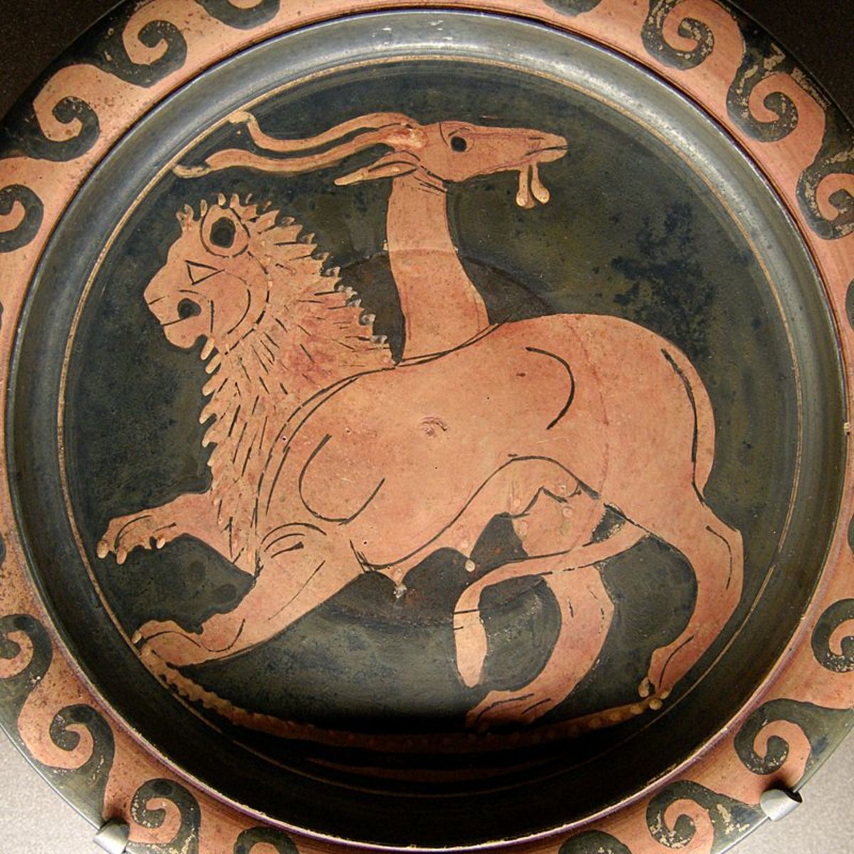 A plate depicting a Chimera