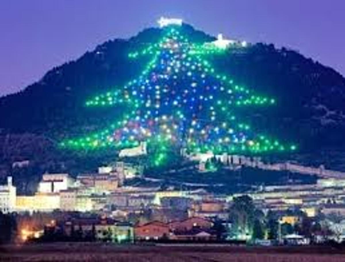 Gubbio at Christmas Time
