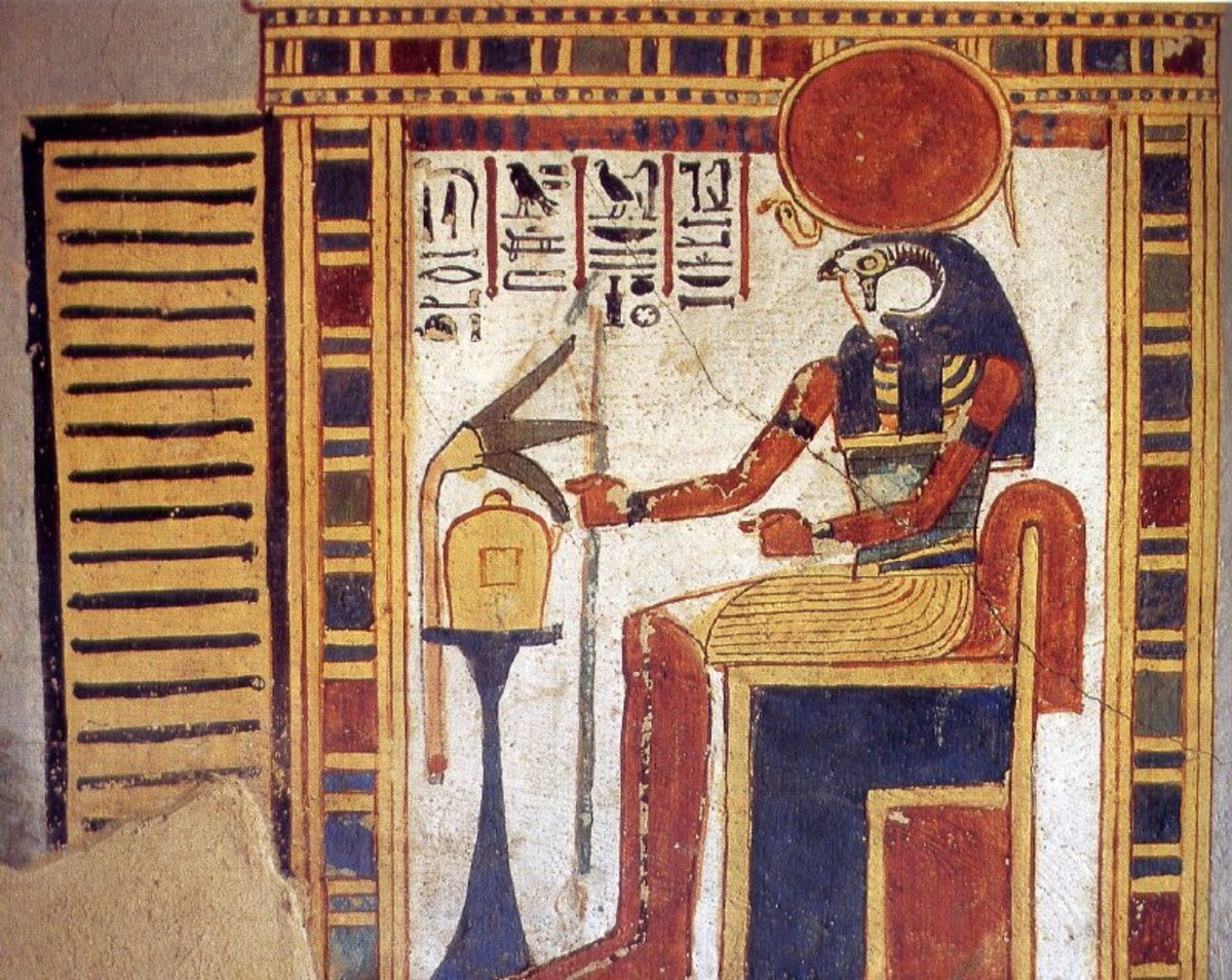 Depicted as a bird headed god by the Egyptians, the Sun God Ra, is known for spiritual wisdom and a civilization builder.