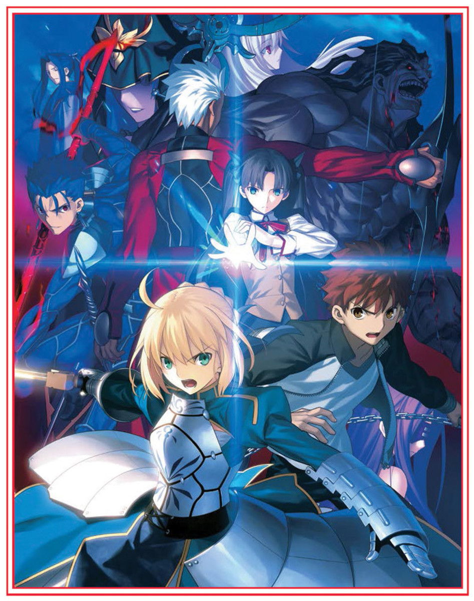 Anime Review Fate Stay Night Unlimited Blade Works 2014 Hubpages