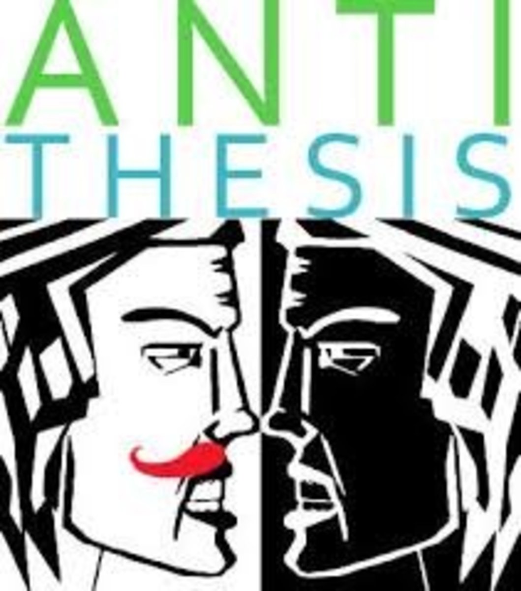 Antithesis - Wikipedia, the free encyclopedia