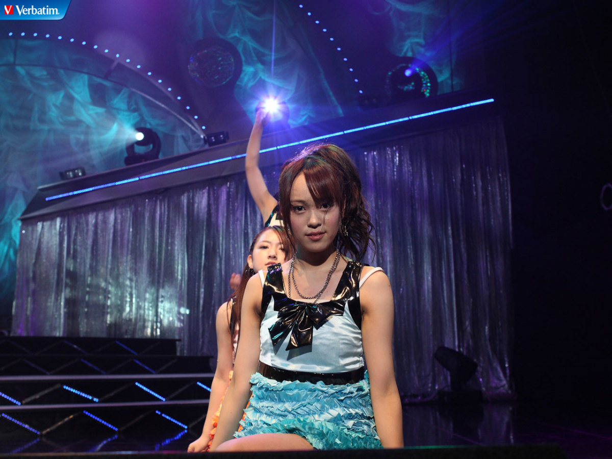 Rumi Yonezawa at one of the AKB48 concerts.