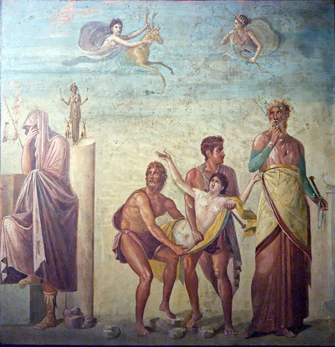 Calchas and the Sacrifice of Iphigenia