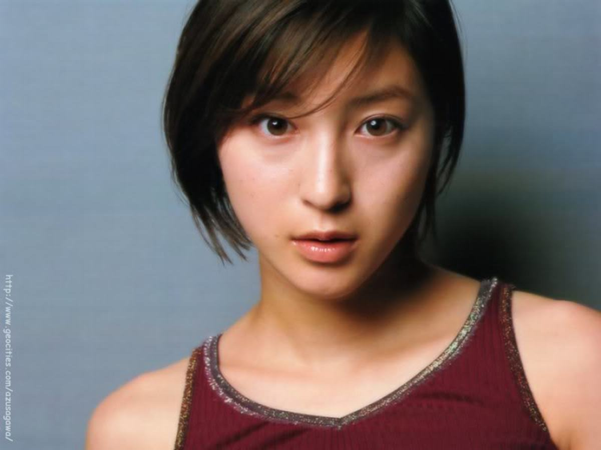 Ryoko Hirosue, Award Winning Japanese movie actress and singer from Yokohama