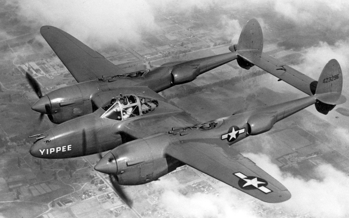 """The P-38 Lightning one of the best fighters in WWII chosen for """"Operation Vengeance"""" the shooting down of Admiral  Yamamoto's Mitsubishi """"Betty"""" bomber over the Island of Bougainville April 18, 1943, the man who led the attack on Pear Harbor."""