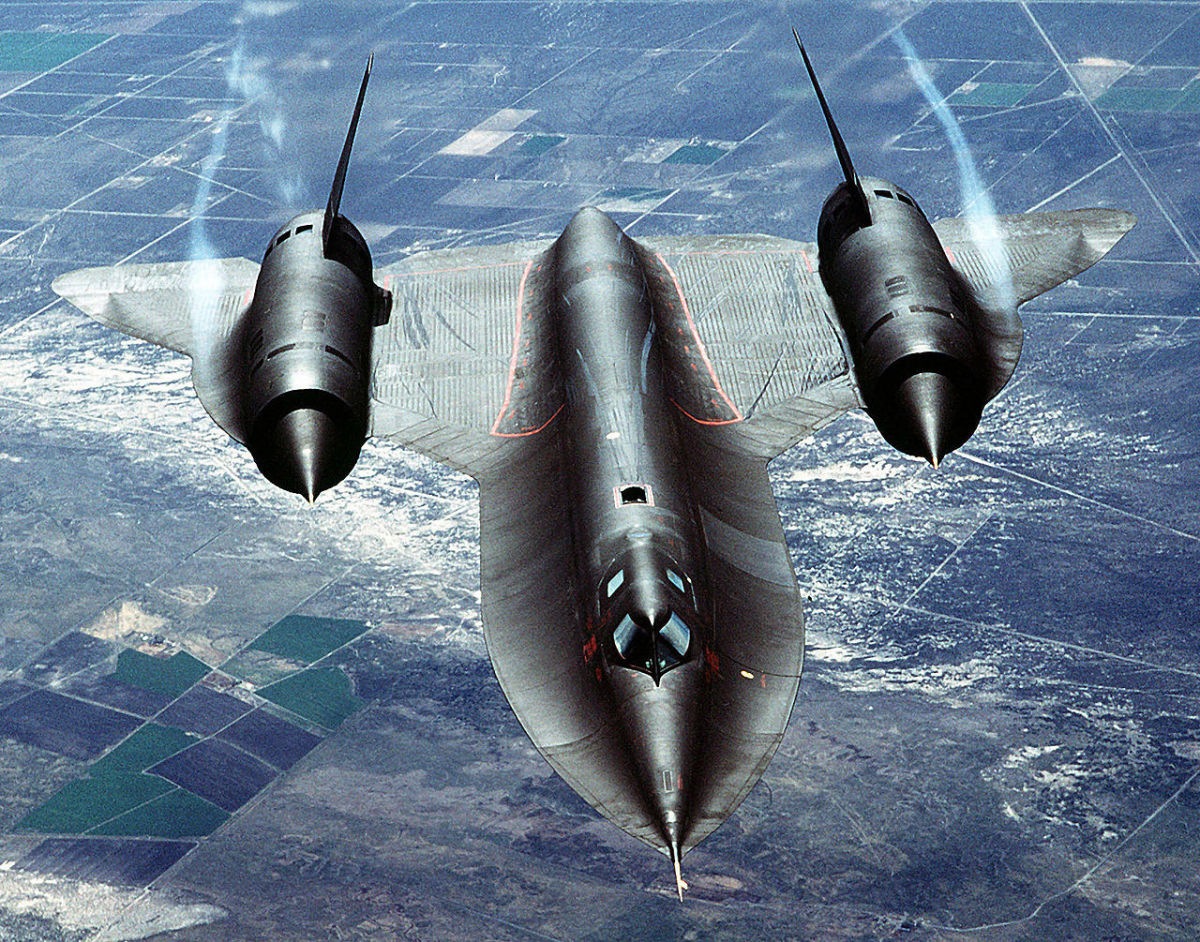 The Futuristic Black Planes of Lockheed's Top Secret Skunk Works
