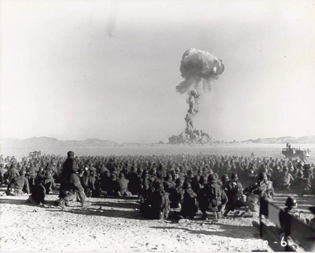 During the 1960s American troops were used as test subjects to determine the effects of radiation on humans.