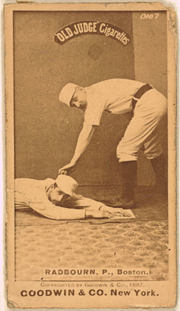 "Is Charles ""Old Hoss"" Radbourn the man behind the Charley Horse?"