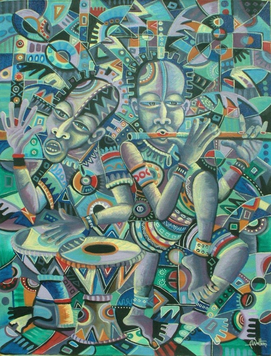 THE AFRICANS IN AFRICA AND THE DIASPORA; Similar Cultures, Traditions, Customs, Music And Dance - African Spun