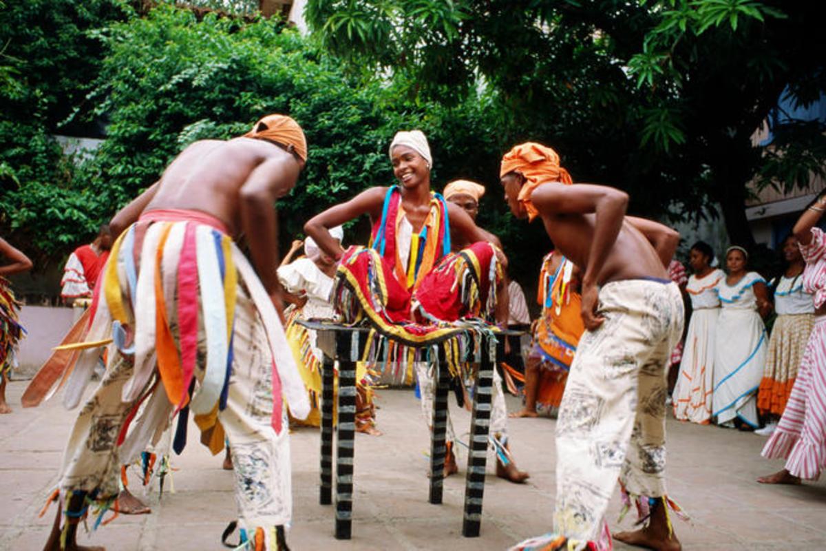African Cuban Dancers...