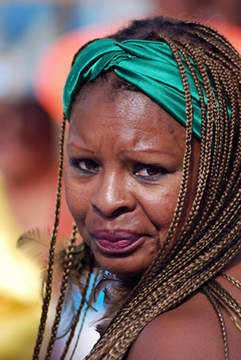 African Peruvian Woman...