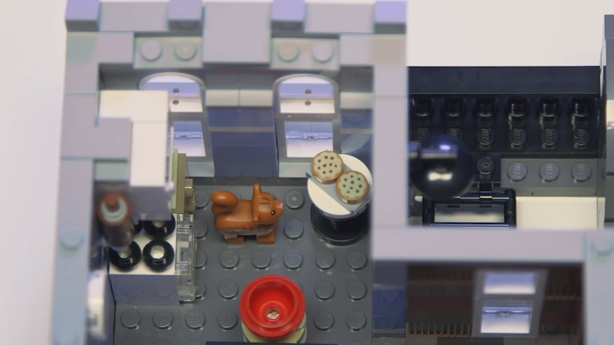 LEGO Creator Detective's Office Modular Building | The final level – the kitchen, where the cookies and candies are baked up during the era when it's prohibited.