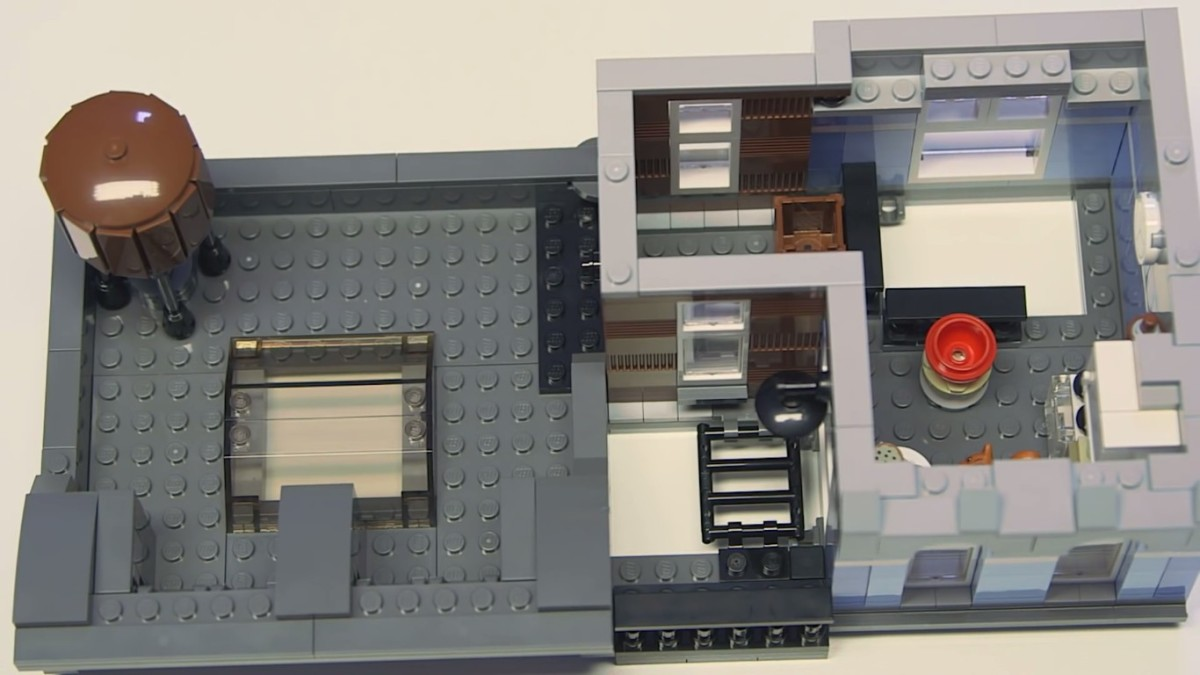 LEGO Creator Detective's Office Modular Building | The final level.