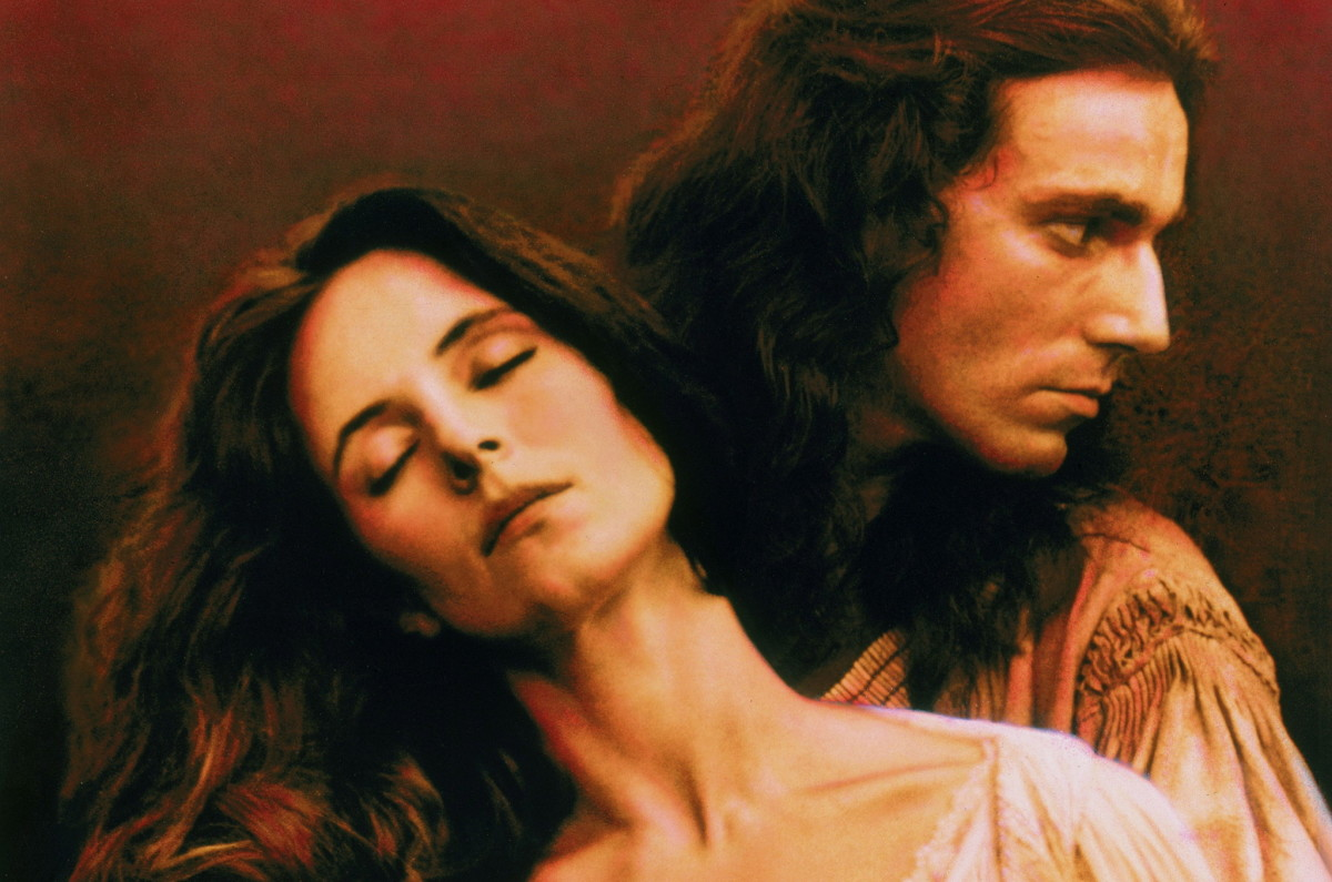 War, prejudice, fear, and intense love.  Daniel Day Lewis and Madeleine Stowe are perfectly cast in this film