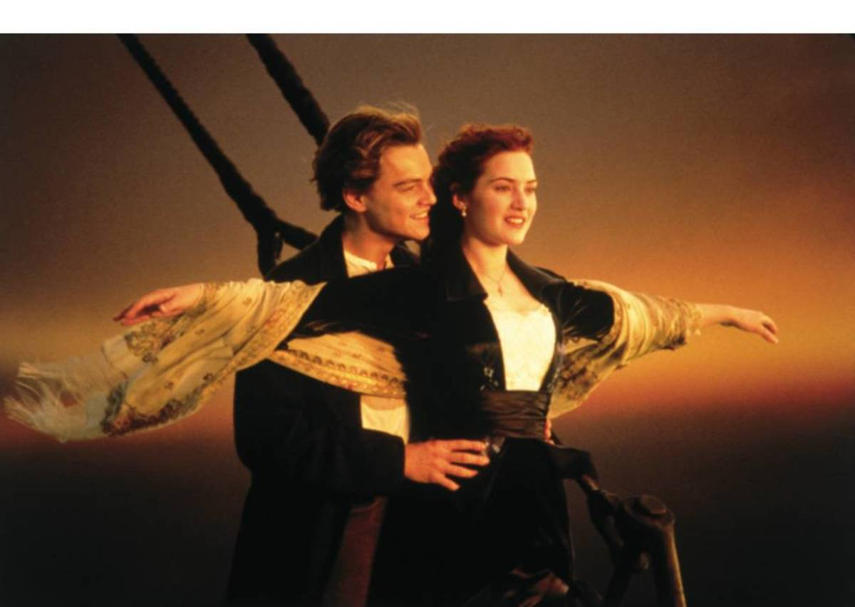 Love on a sinking ship - another tear jerker.  This romantic epic film is worth the watch.