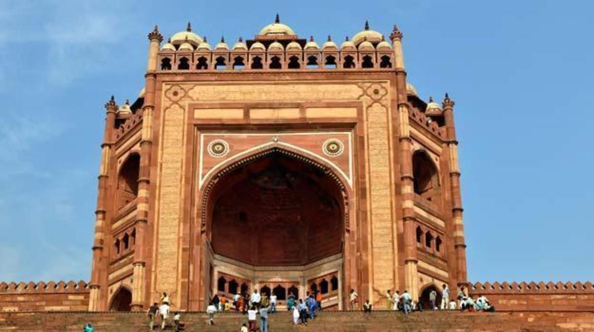 Buland Darwaza at Fatehpur Sikri in Agra district of UttarPradesh
