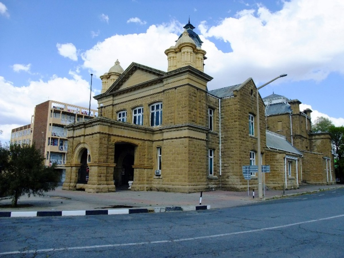 Town Hall, Kroonstad, Free State, South Africa