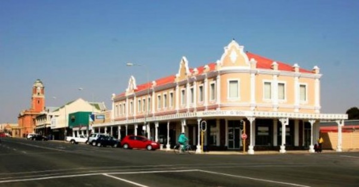 Warden street, Harrismith, Free State, South Africa