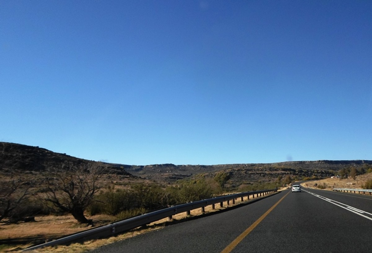 Between Bethlehem and Harrismith, Free State, South Africa